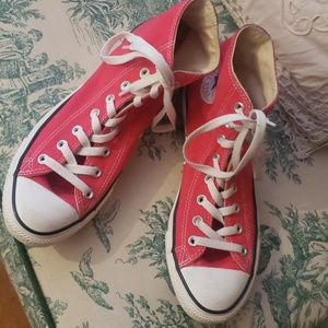 Authentic Pink Converse All Star Sneakers
